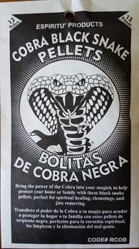 Cobra Black Snake Pellets