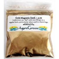 Gold Magnetic Sand (lodestone Food) 4oz