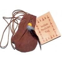 "3"" Medicine Dream Bag Brown"