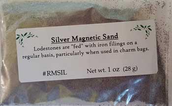 Silver Magnetic Sand (lodestone Food) 1oz