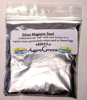 Silver Magnetic Sand (lodestone Food) 4oz