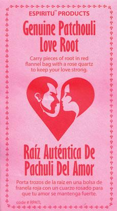 Patchouli Love Root Envolope