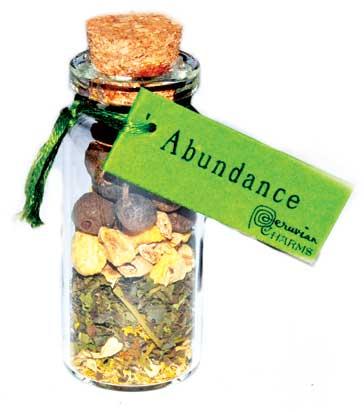Abundance Pocket Spellbottle