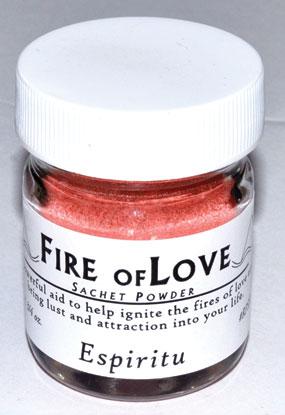 3-4oz Fire Of Love Sachet Powder