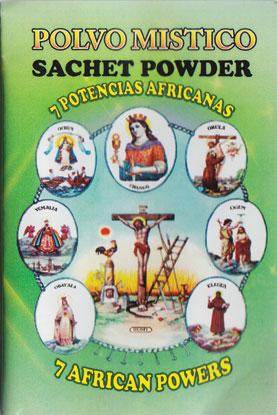 1-2oz Seven African Powers Sachet Powder