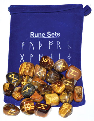 Tiger Eye Rune Set