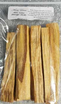 """Palo Santo Smudge Sticks 2oz 3-4"""""""