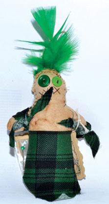 """7"""" Money Voodoo Doll"""