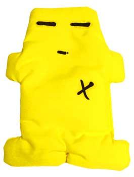 "Yellow Voodoo Doll 5"""