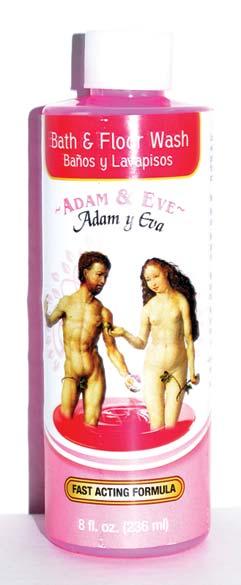 8oz Adam & Eve (adan Y Eva) Wash