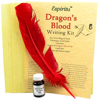 Dragon's Blood Writing Kit