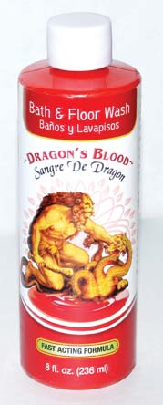 8oz Dragon's Blood Wash