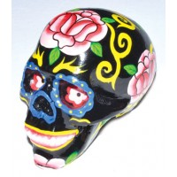"2 1-2"" Day Of The Dead Skull"