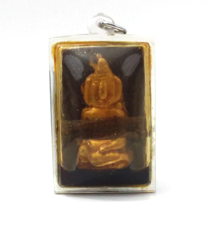 LP Boondet : Phra Chai amulet - THAI VOODOO for love & money luck