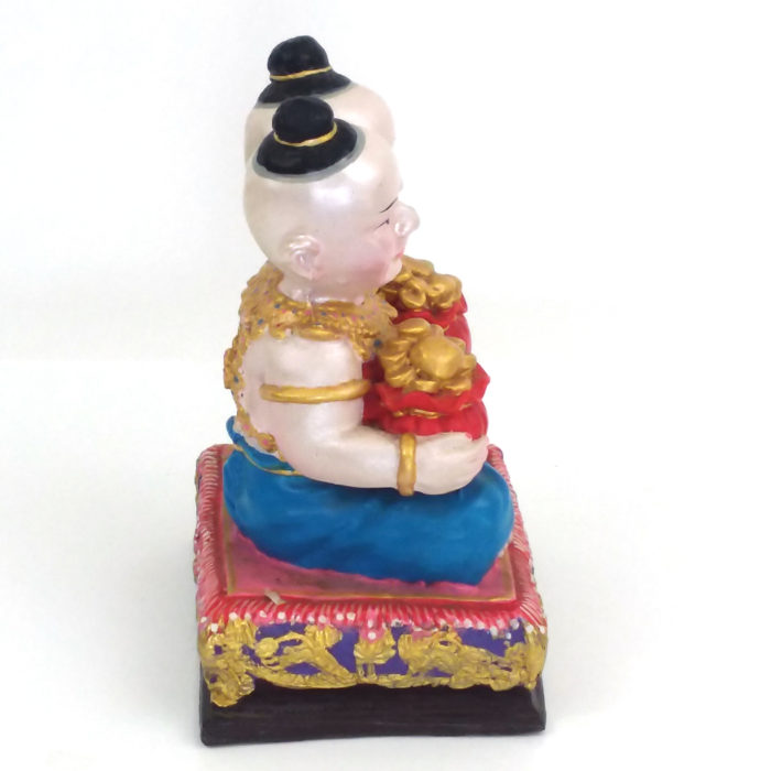 LP Samnao : blessed 5 inch Kuman Thong statue – THAI VOODOO for love & money luck