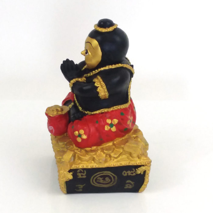 LP Dit : blessed 5 inch Kuman Thong statue – THAI VOODOO for love & money luck 3