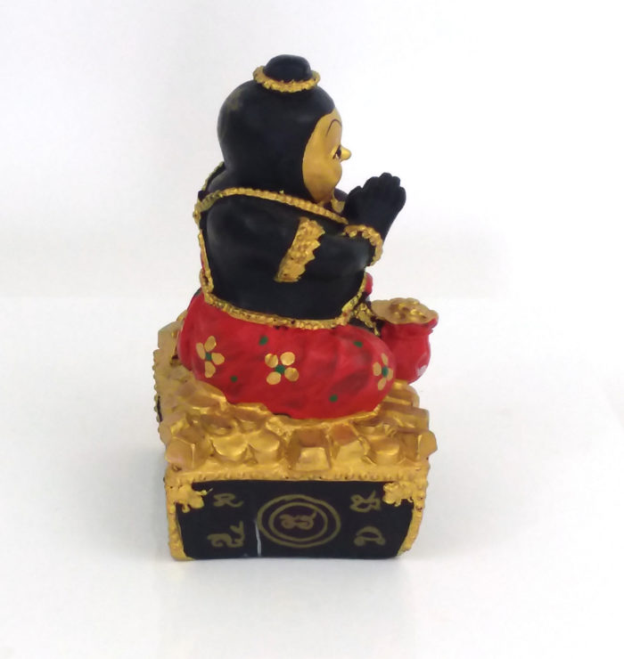LP Dit : blessed 5 inch Kuman Thong statue – THAI VOODOO for love & money luck
