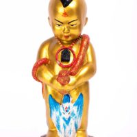 AJ Verathep : blessed Kuman Thong statue – THAI VOODOO for love & money luck