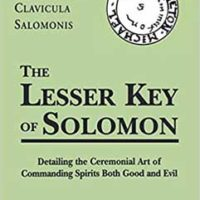 Lesser Key Of Solomon (hc) By Joseph Peterson (ed)