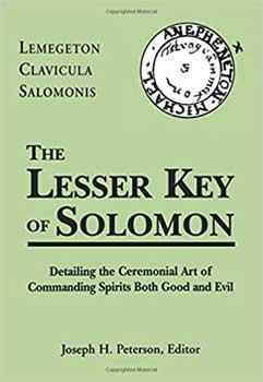 Lesser Key Of Solomon (hc) By Joseph Peterson (ed)