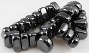 1 Lb Magnetic Hematite Tumbled Stones