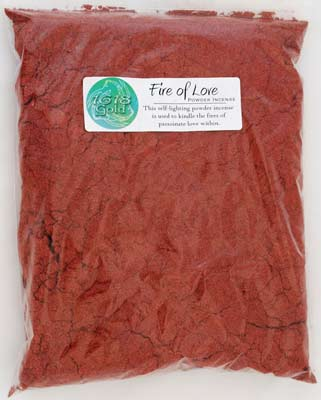 1 Lb Fire Of Love Powder Incense