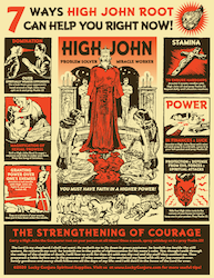 High John Educational Poster